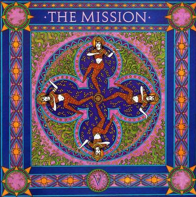 "MISSION, THE - SEVERINA + 3 UK maxi single (12"")"