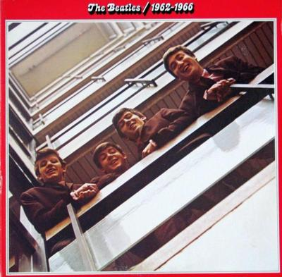 BEATLES, THE - 1962-1966 Double album, gatefold, Canadian pressing (2LP)
