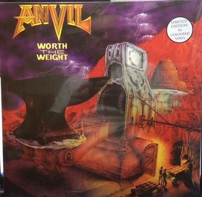 ANVIL - WORTH THE WEIGHT Orange vinyl (LP)