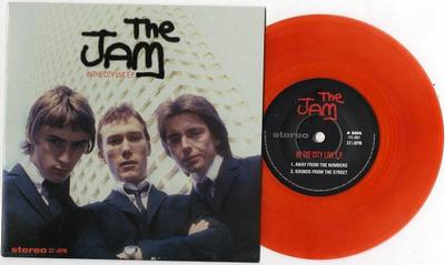 "JAM, THE - IN THE CITY LIVE E.P. 200x Coloured (7"")"