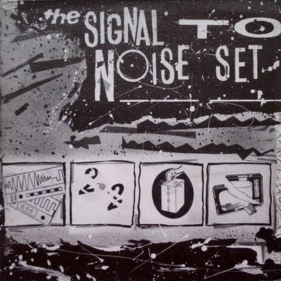 SIGNAL TO NOISE SET ( Various Synth ) - V/A Classic 1984 compilation with analogue, minimal synthpop (LP)
