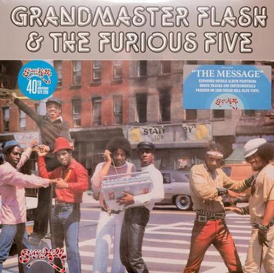 GRANDMASTER FLASH & The Furious Five - THE MESSAGE 180g Blue vinyl. RSD 2019 (2LP)