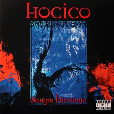 HOCICO - SANGRE HIRVANTE First time on LP. blue/red ink spot (2LP)