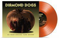 DIAMOND DOGS - AS YOUR GREENS TURN BROWN limited transparent red vinyl (LP)