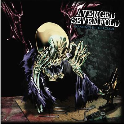 AVENGED SEVENFOLD - DIAMONDS IN THE ROUGH USA import, clear vinyl. (2LP)