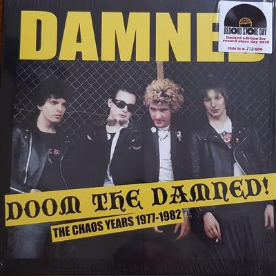 DAMNED, THE - DOOM THE DAMNED - tHE cHAOS yEARS 1977-1982 , RSD 2018, Numbered ed of 500 (LP)