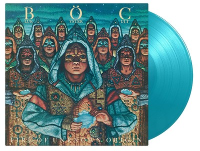 BLUE OYSTER CULT - FIRE OF UNKNOWN ORIGIN Turquoise vinyl, numbered ed. (LP)