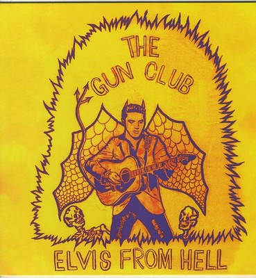 GUN CLUB, THE - ELVIS FROM HELL Coloured vinyl (LP)