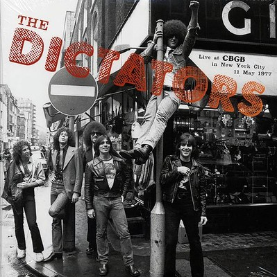DICTATORS, THE - LIVE AT CBGB IN NEW YORK CITY 1977 (LP)