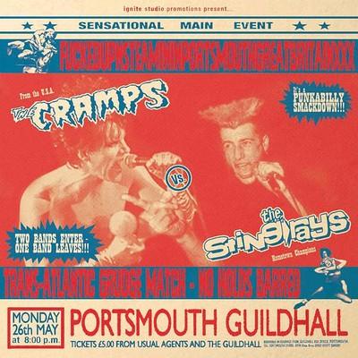 CRAMPS, THE vs. The Stingrays - SPLIT (LP)