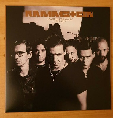 RAMMSTEIN - MADE IN GERMANY 1995-2011 Reissue (LP)