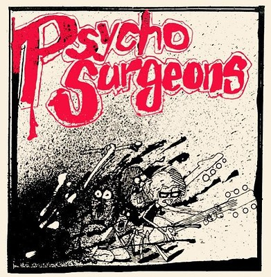 "PSYCHO SURGEONS - CRUSH ON YOU/ Falling Apart Classic first wave OZ Punk (7"")"
