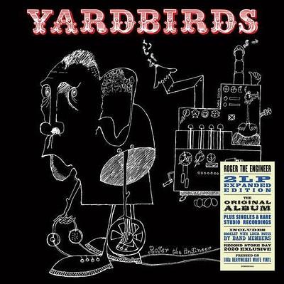 YARDBIRDS, THE - ROGER THE ENGINEER 180g White vinyl, RSD20 (2LP)