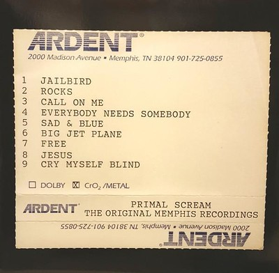PRIMAL SCREAM - GIVE OUT BUT DON´T GIVE UP- The Original Memphis Recordings, 180g +DL code (2LP)