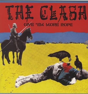 CLASH, THE - GIVE EM MORE ROPE Alternate live versions, Coloured vinyl (LP)