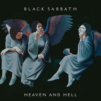 BLACK SABBATH - HEAVEN AND HELL Deluxe 2xLP edition with bonus. USA import (2LP)