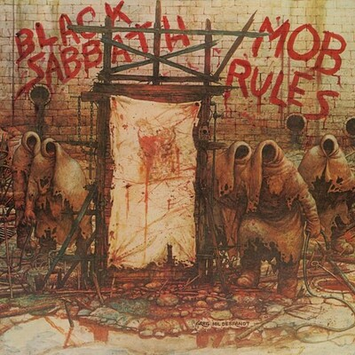 BLACK SABBATH - MOB RULES Deluxe 2xLP edition with bonus. USA import (2LP)