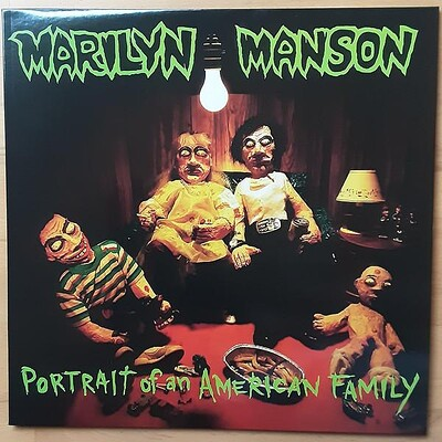 MARILYN MANSON - PORTRAIT OF AN AMERICAN FAMILY Reissue with insert (LP)