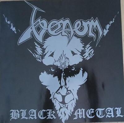 VENOM - BLACK METAL Reissue of 1986 Roadrunner ed. (LP)