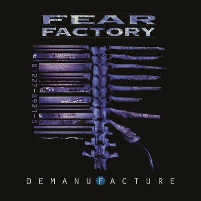 FEAR FACTORY - DEMANUFACTURE 25th Anniversary deluxe 3LP, Transparent Blue (3LP)