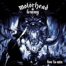 MOTORHEAD+ LEMMY - LIVE TO WIN Red vinyl, USA import. Limited Edition (LP)