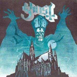 GHOST - OPUS EPONYMOUS , 2021 Version, blue with silver sparkle (LP)