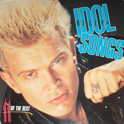 IDOL, BILLY - IDOL SONGS - 11 OF THE BEST Scandinavian Pressing (LP)